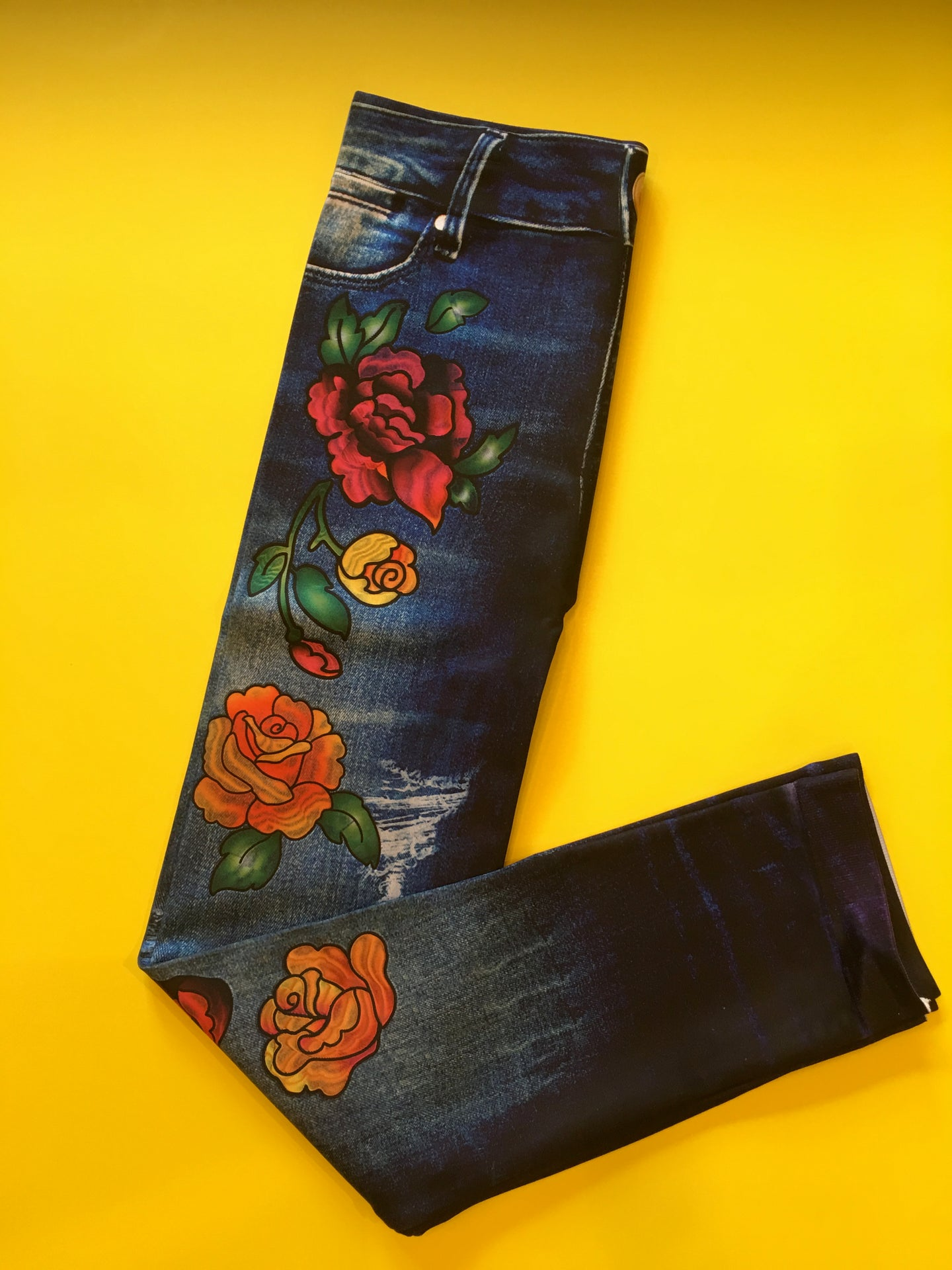 Denim & Roses Leggings/Jeggings