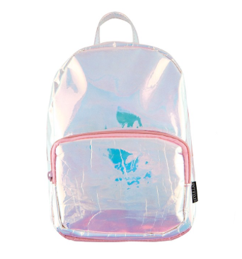 Iridescent Mini Backpack