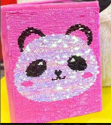 Panda Journal - Reversible Sequin