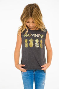 Happiness Tank with Pineapples