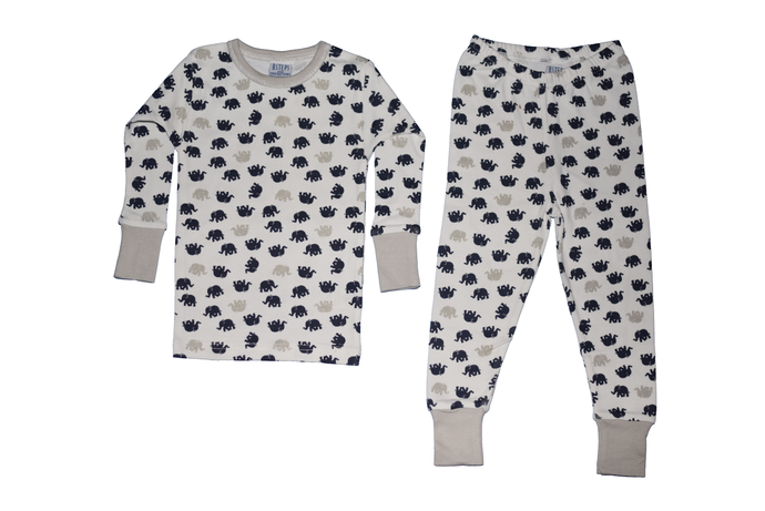 Boys 2-piece Elephant Pajama