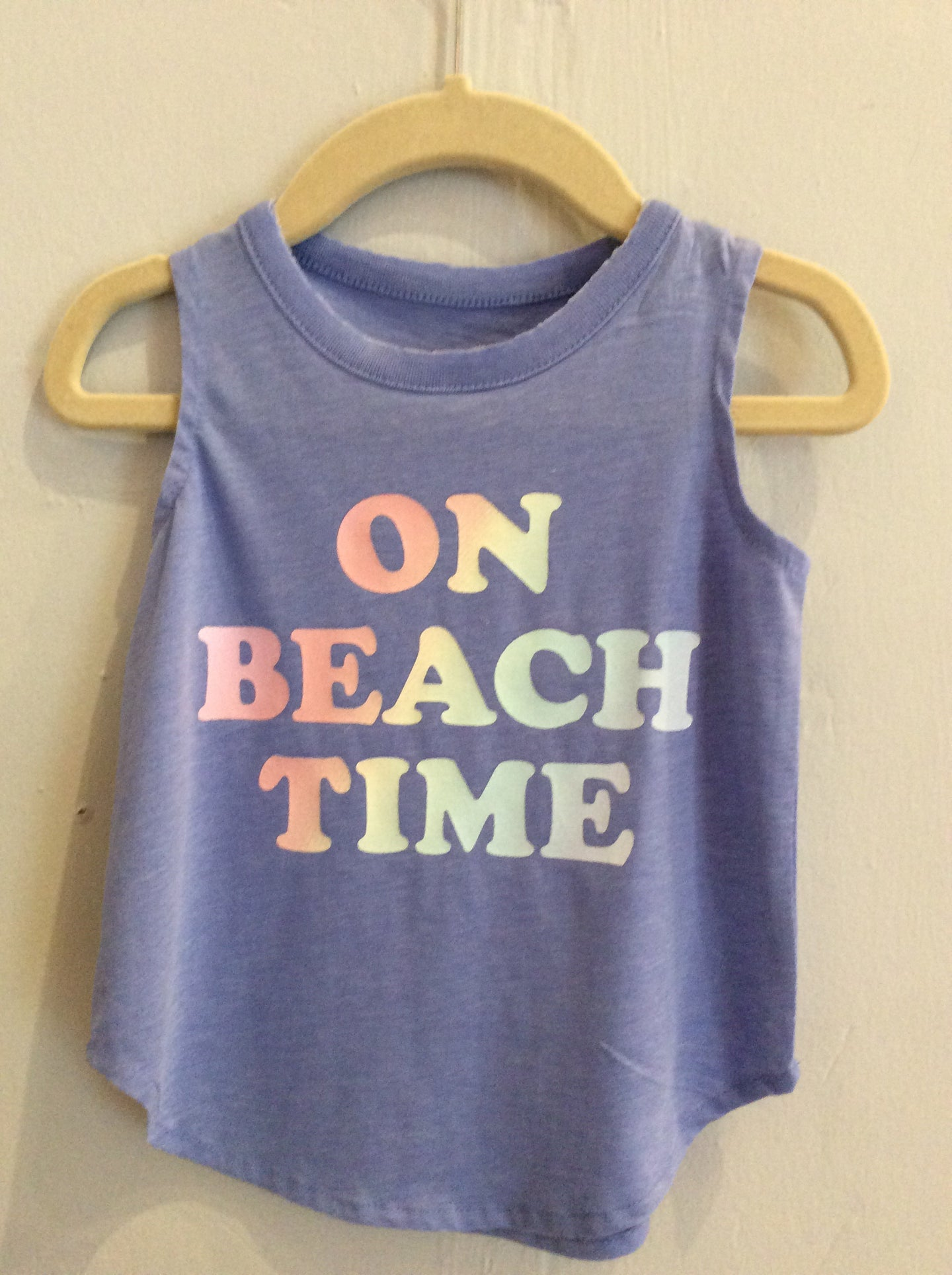 On Beach Time Tank Top