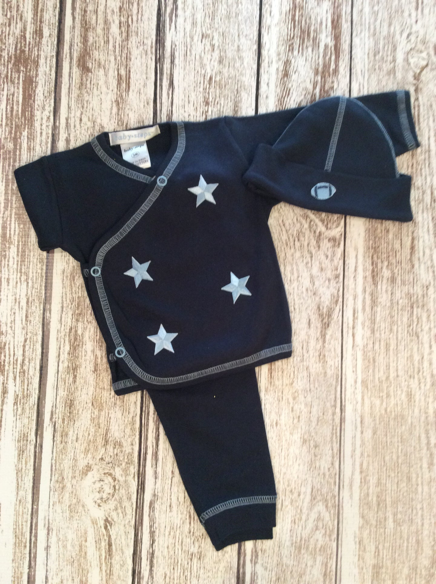 Infant Boys 3 piece Star set