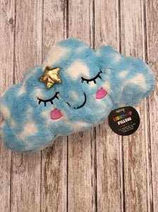 Iscream light up cloud pillow