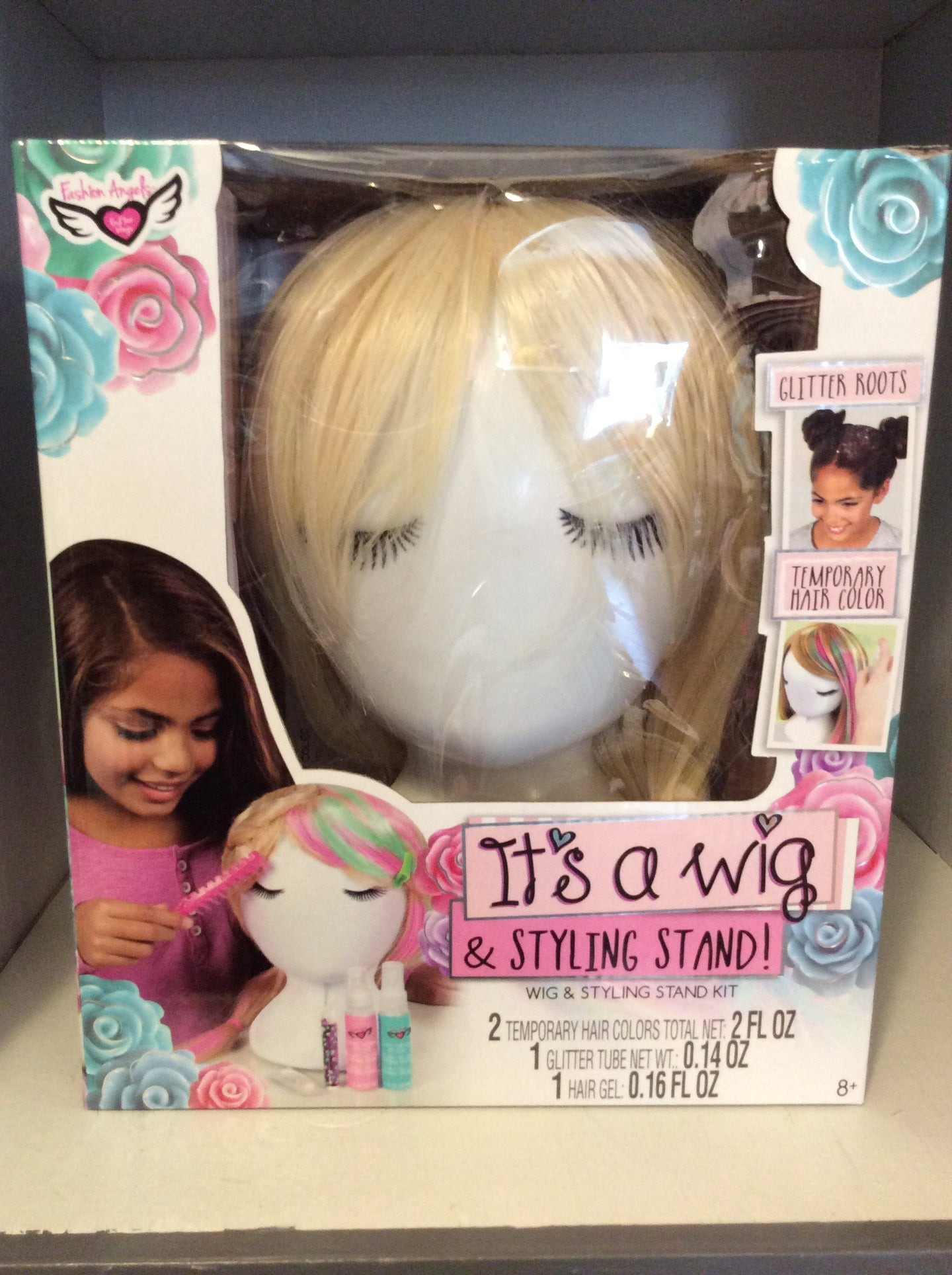Wig and styling stand kit