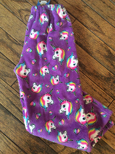 Unicorn Fuzzy Pants