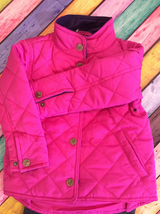Hot Pink Quilted Jacket