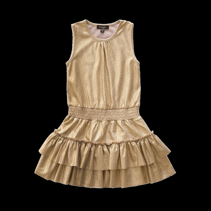 Gold Thea Dress
