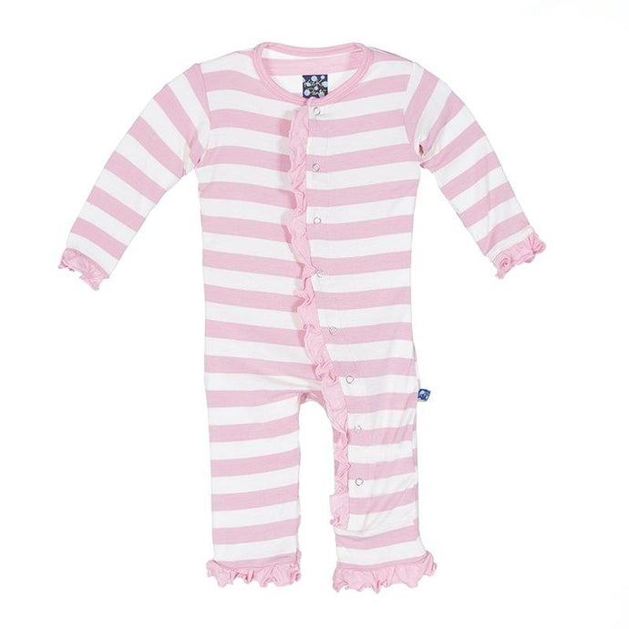 Infant Girl Pink Ruffle Onsie