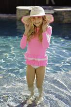 Pink Rash Guard To With Pink Bottom Set