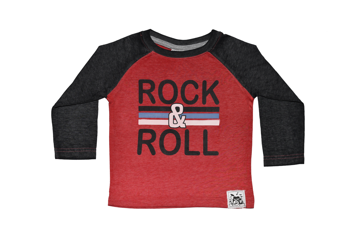 Boys Rock & Roll Long Sleeved Shirt