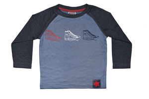 Boys Sneaker Long Sleeved Shirt