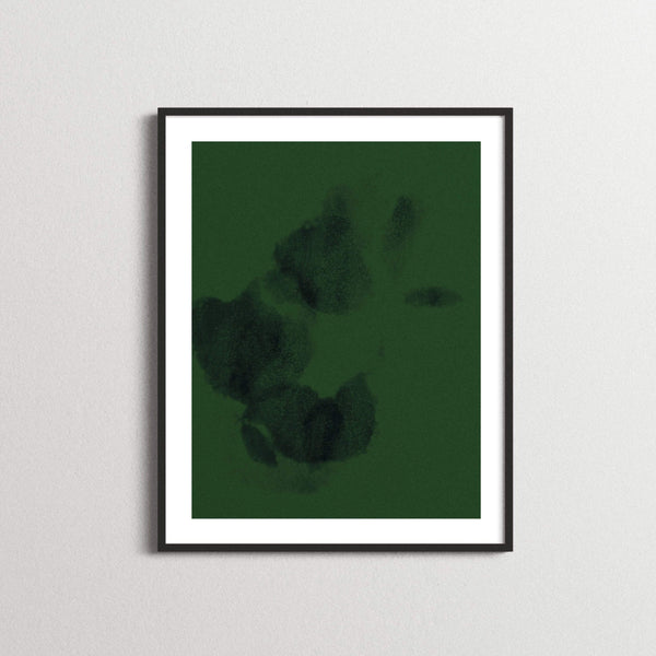 Forest Green Contemporary Printable Artwork