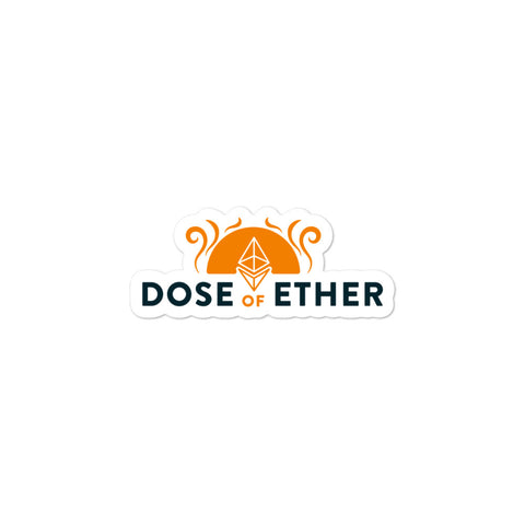 Dose of Ether Sticker