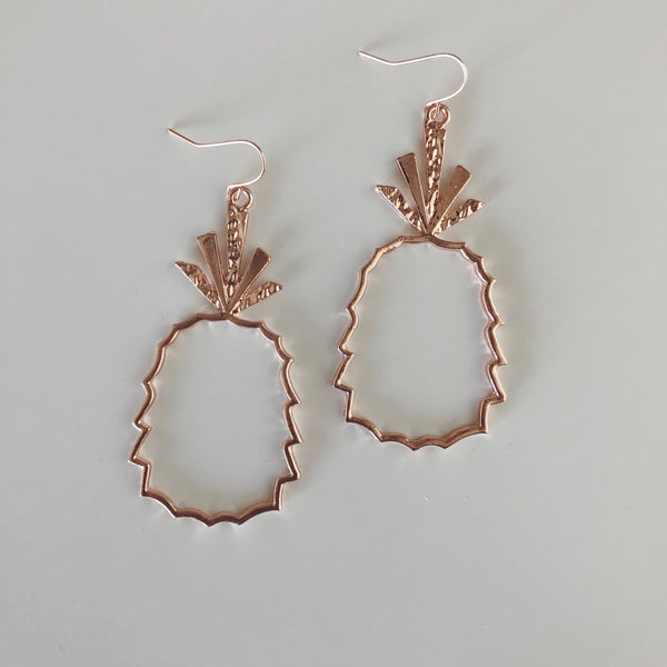 Pineapple Sweetness Dangle Earrings