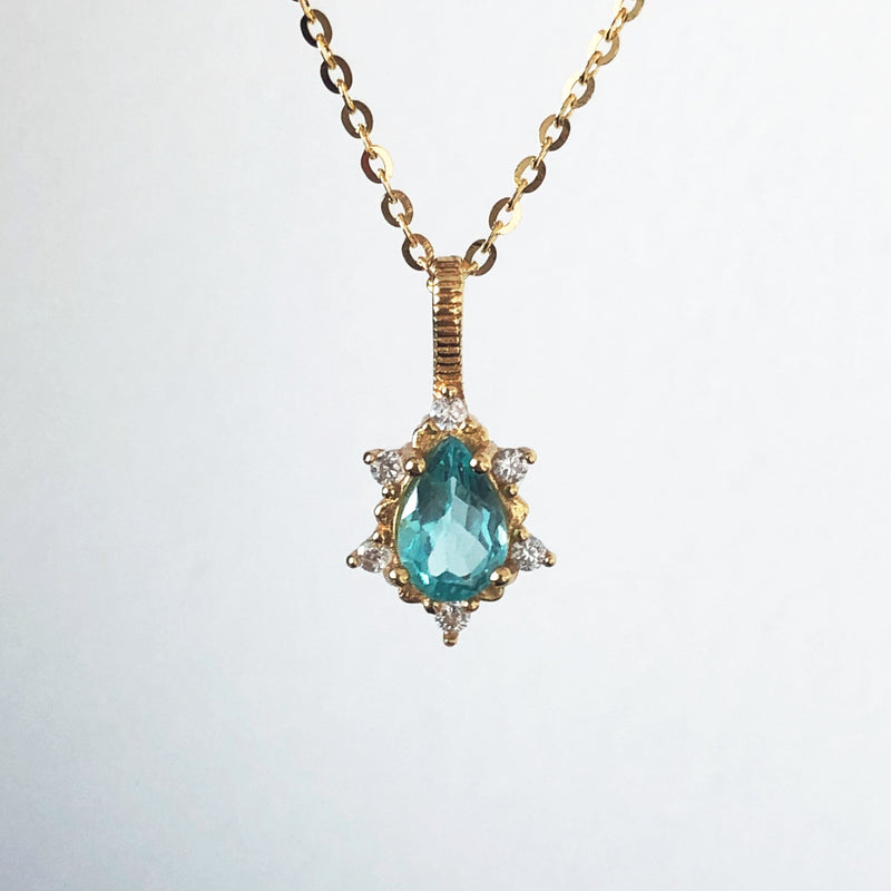 Spiritual Drop Necklace - 18K Gold Vermeil