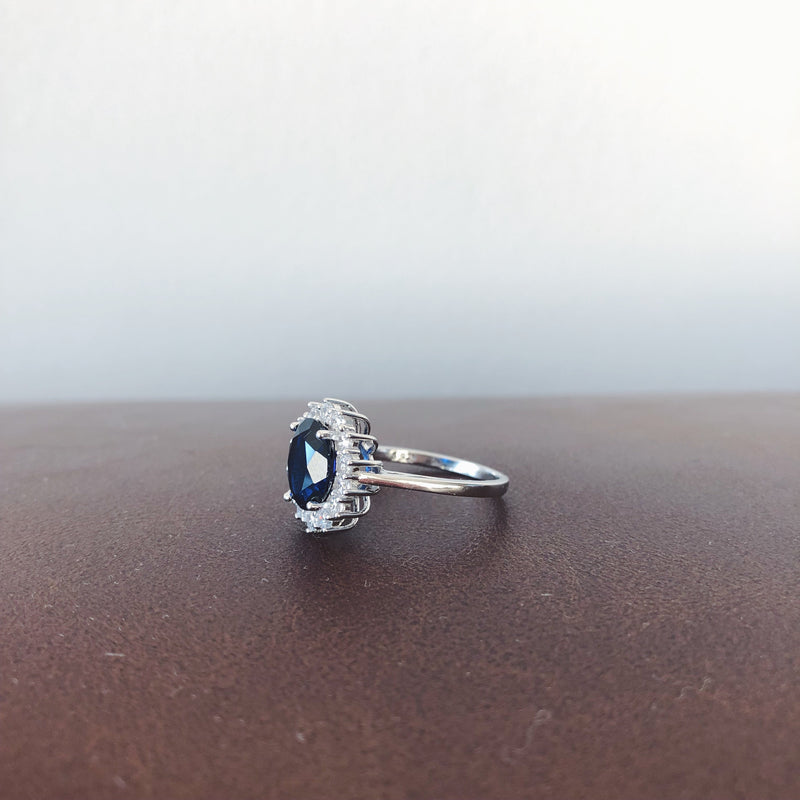 Wild Blues - 925 Sterling Silver Ring