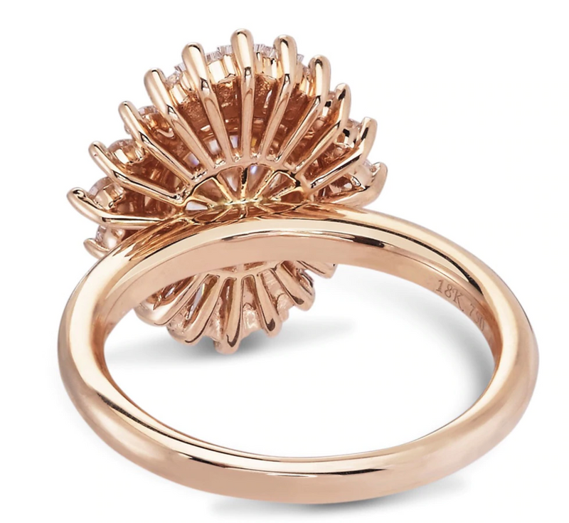 Calliope - 14K Rose Gold Ring | Bohemian Guru