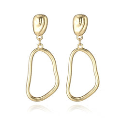 Squiggle Drop Earrings