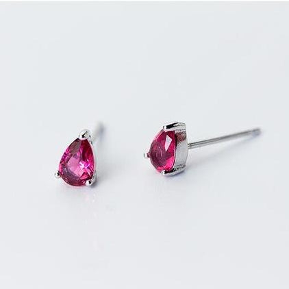 Utopia Stud Earrings - 925 Sterling Silver