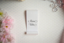 Double-Sided, Place Card Scrolls
