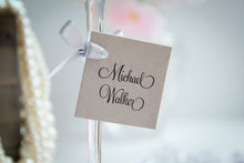 Square, Mini Place Card Tags