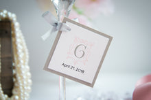 Square, Layered Favor Tags