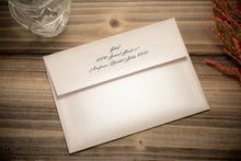Layered Invitation Suites with Ribbon