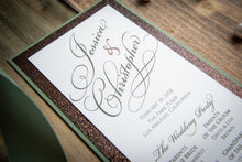 Large, Triple-Layered, Ceremony Program Cards