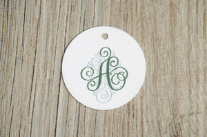 Round, Mini Favor Tags