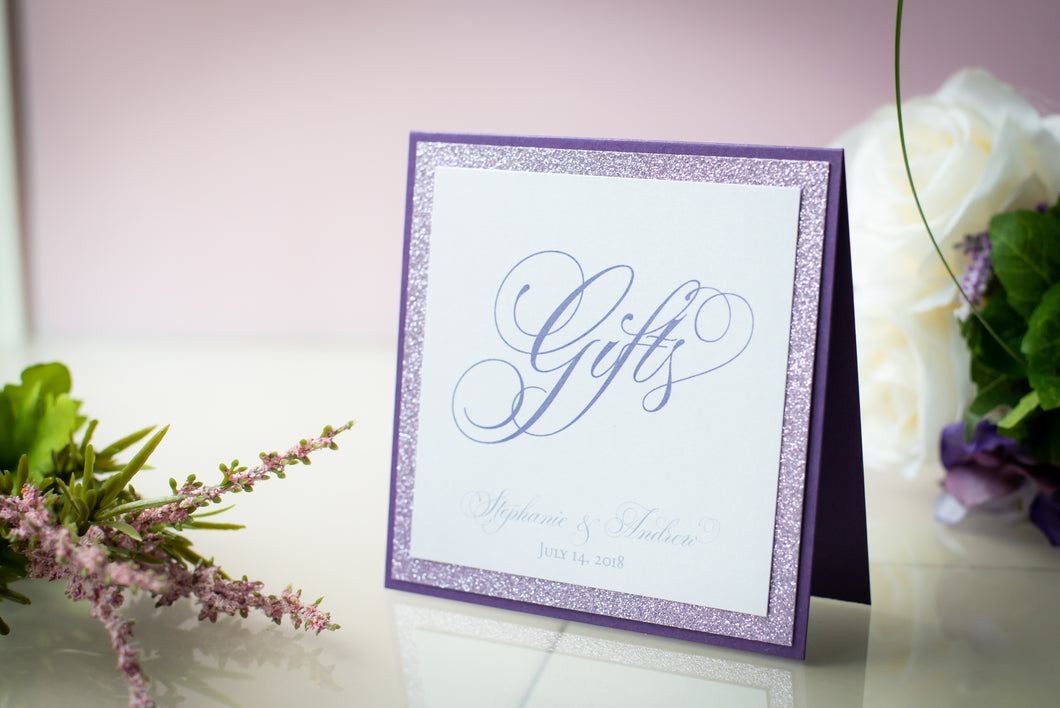 Square, Custom-Wording, Personalized Triple-Layered Signs