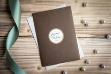 Triple-Layered, Pocket Folder Invitation Suites with Crystal Rhinestone Buckles