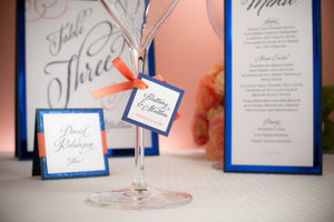 Square, Layered, Mini Favor Tags