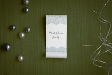 Lacy Fairy Tale Place Card Scrolls