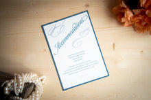 Triple-Layered Invitation Suites with Ribbon