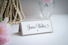 Layered, Tented Place Cards