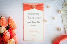 Mini, Layered, Ceremony Programs with Buckles (Set of 5)