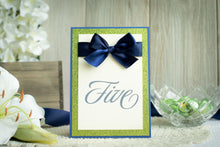 Shimmer-Satin, Sparkling Table Numbers