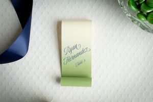 Ombré, Place Card Scrolls (Set of 5)