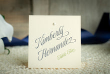 Pearly-Soft Place Cards