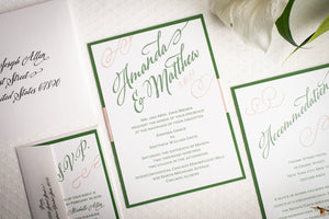 Shimmer-Satin Invitation Suites