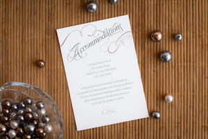 Invitation Suites (Set of 5)
