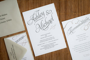 Minimalistic Invitation Suites