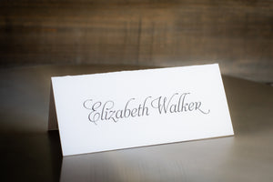 Minimalistic Place Cards
