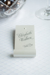 Pearly-Soft Fairy Tale Place Card Scrolls