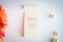 Double-Sided Place Card Scrolls (Set of 5)