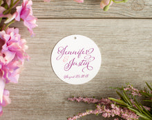Large, Round, Favor Tags (Set of 5)