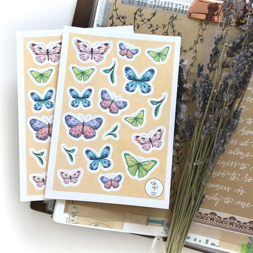 Butterfly Watercolour Sticker