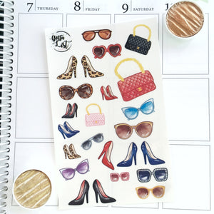 Glam Series Transparent Stickers by Gottalist Studio