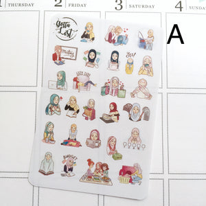 Hana Sampler Sheets